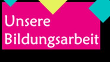 Logo Bildungsarbeit