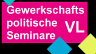 Logo Gewerkschaftspolitische Seminare