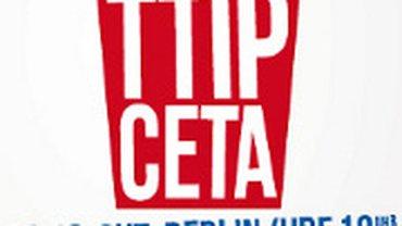 Protest gegen TTIP & CETA