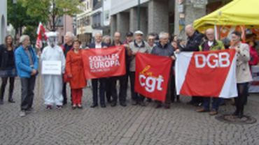 CGT-DGB gegen Freihandelsabkommen