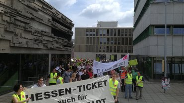 Tarifverhandlungen an der TU Darmstadt