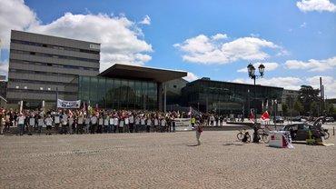 Kundgebung Karolinenplatz
