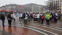 Kundgebung Luisenplatz