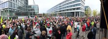 Warnstreik Telekom + öD 11.04.18