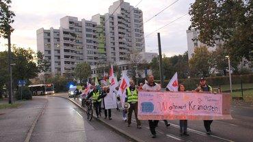 Warnstreik Wohnpark Kranichstein