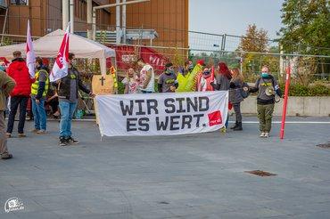 Warnstreik Heppenheim